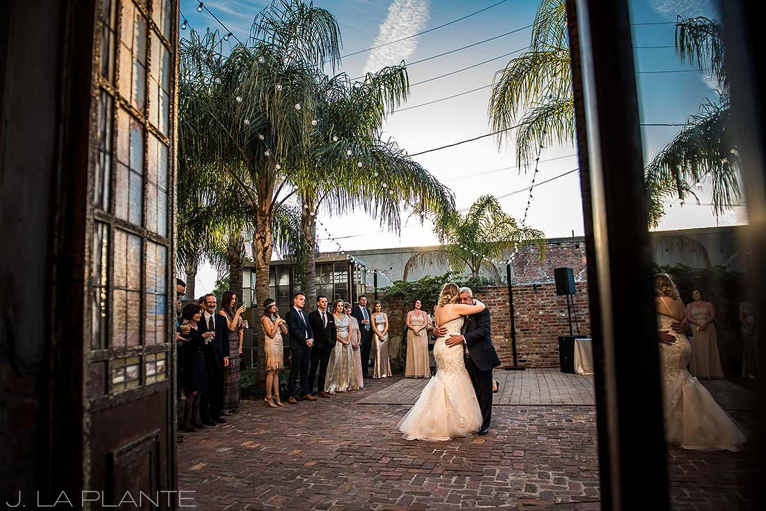 Father of the bride dance | Race & Religious Wedding | New Orleans Destination Wedding Photography | J. La Plante Photo