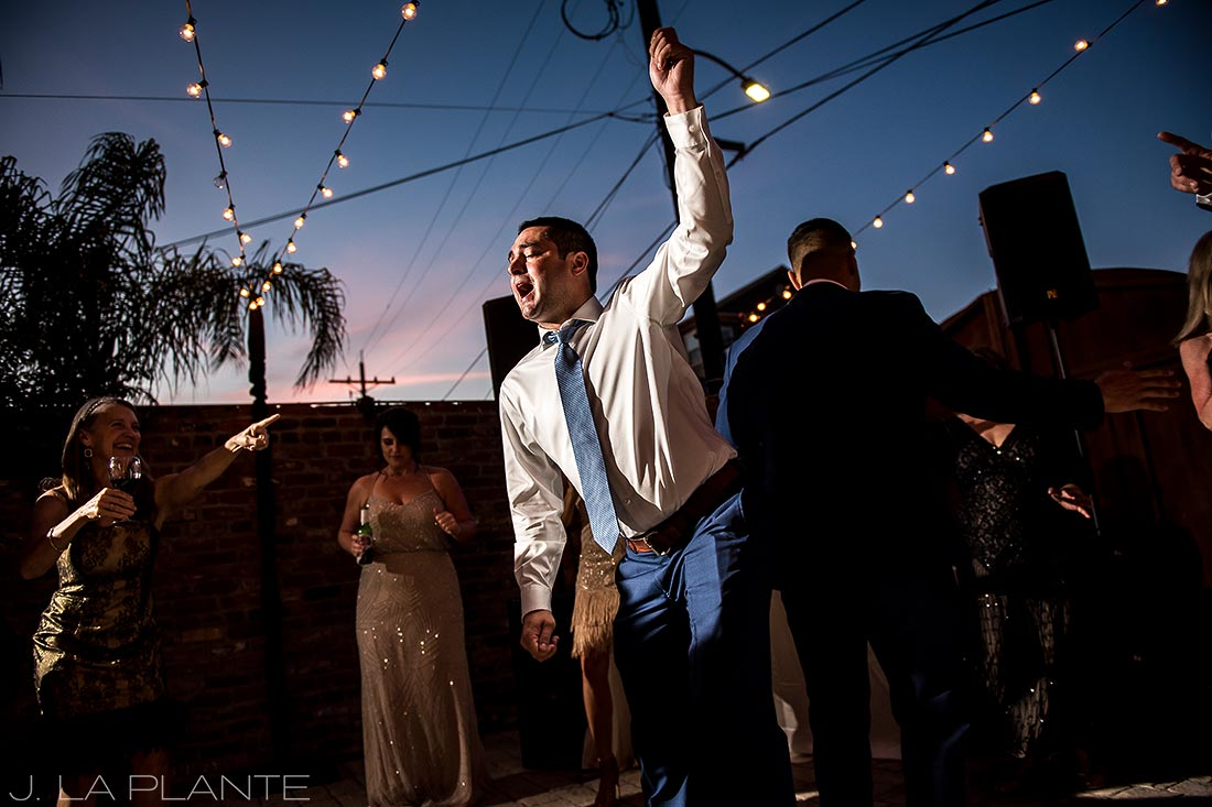 Wedding dance party | Race & Religious Wedding | New Orleans Destination Wedding Photography | J. La Plante Photo