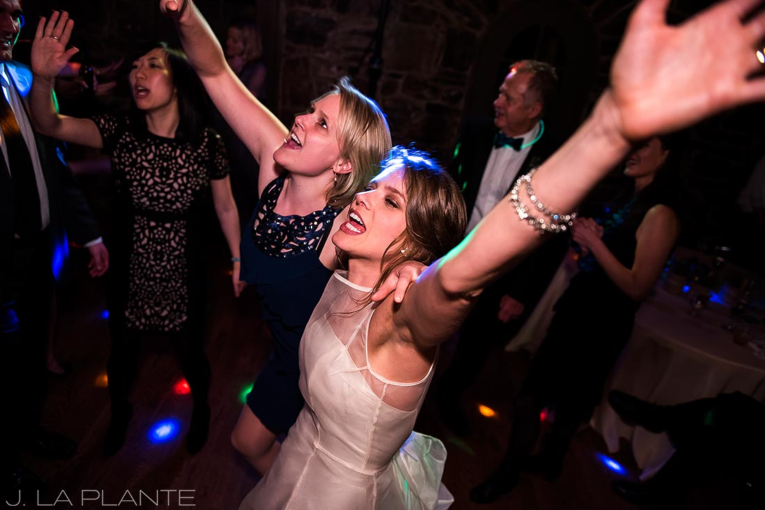 Wedding dance party | Chief Hosa Lodge wedding | J. La Plante Photo | Denver Wedding Photographers