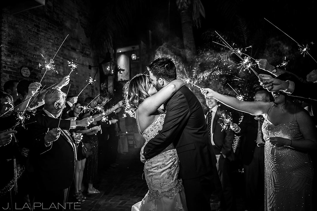 Perfect Sparkler Sendoff | Race & Religious Wedding | New Orleans Destination Wedding Photography | J. La Plante Photo