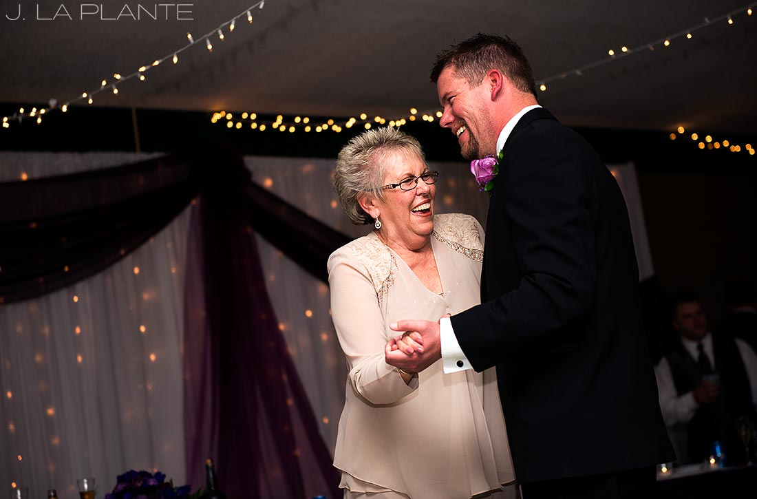 unique mother son dance song ideas | colorado wedding photographers | J. La Plante Photo