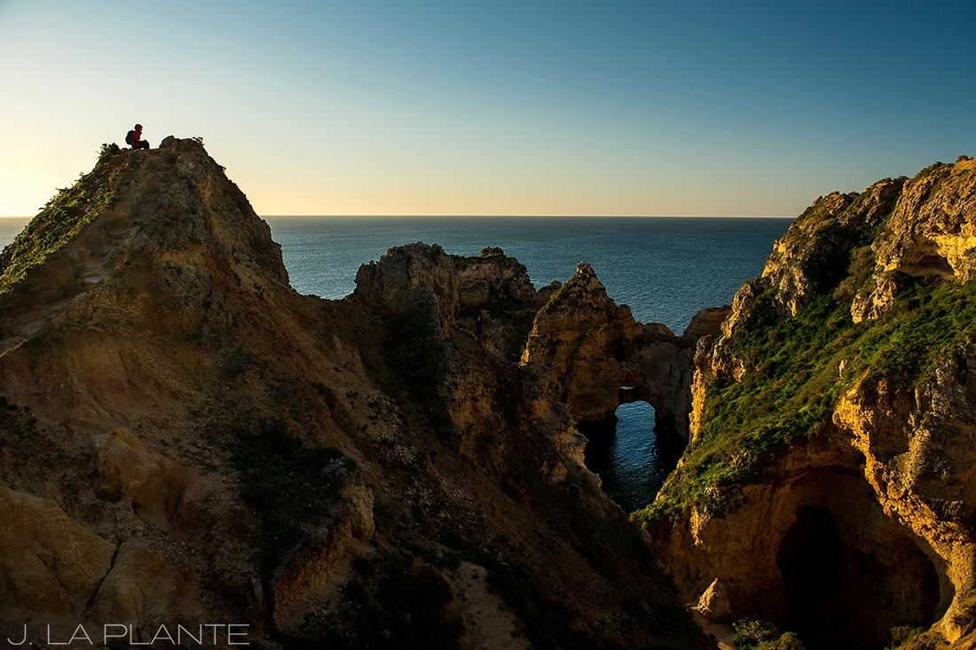 hiking the cliffs of the algarve portugal