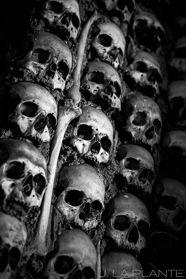 bone cathedral in Evora