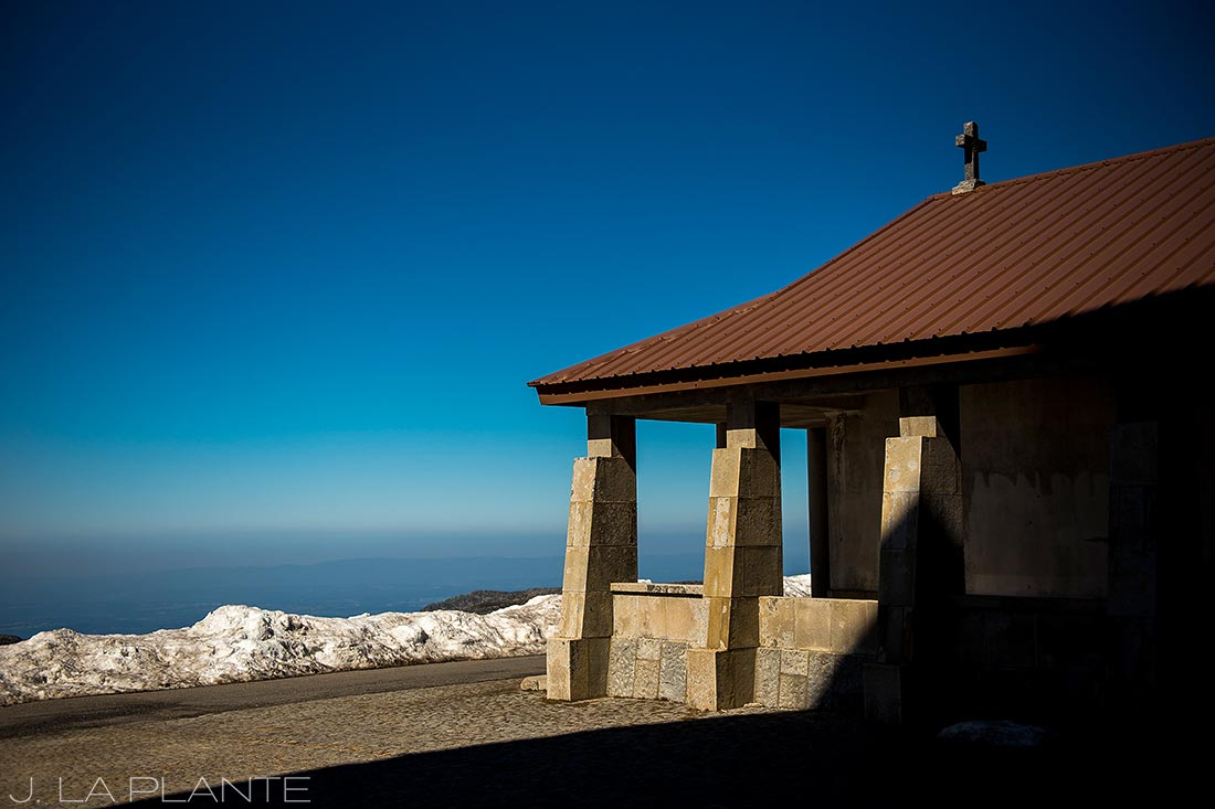 old church in the mountains of portugal