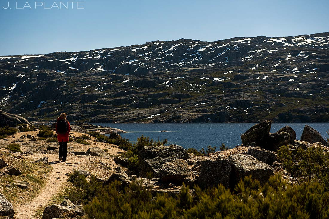 hiking in the Portuguese mountains