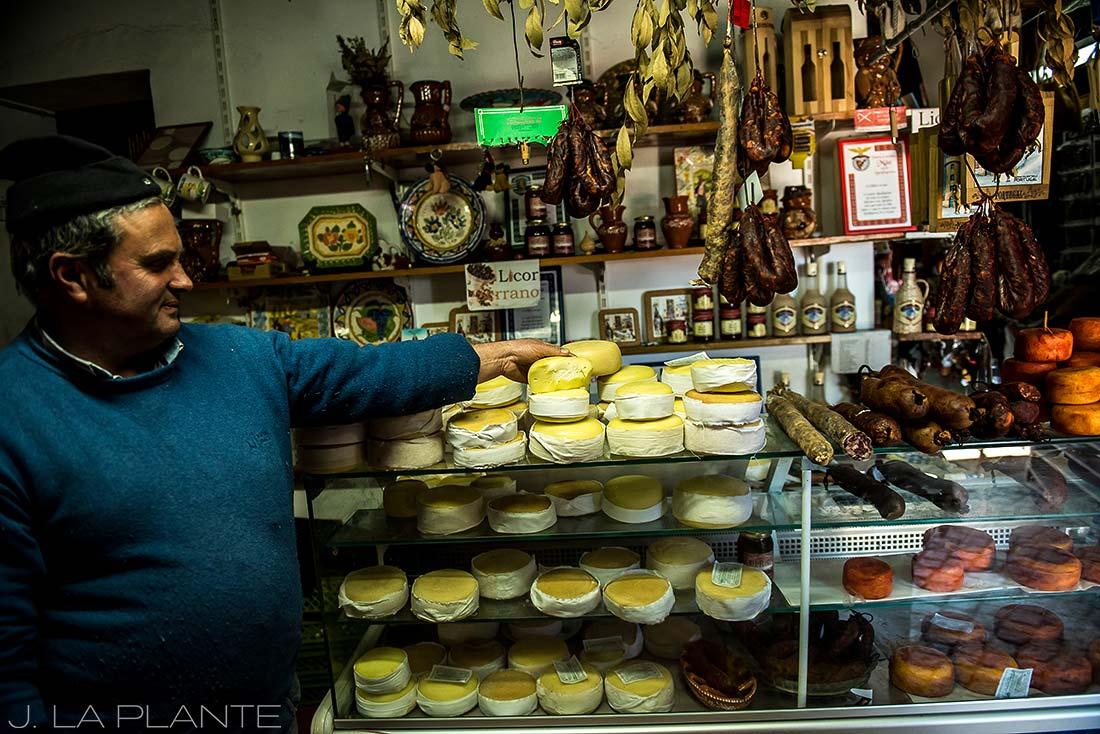 Portuguese cheese shop