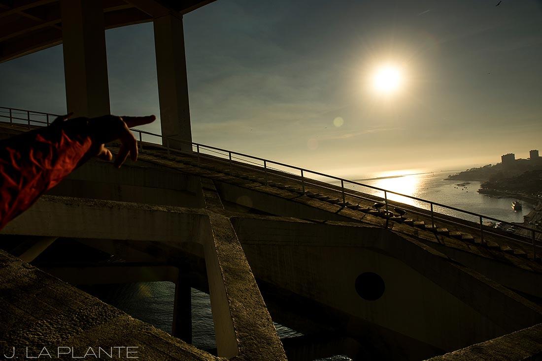 bridge walk in porto