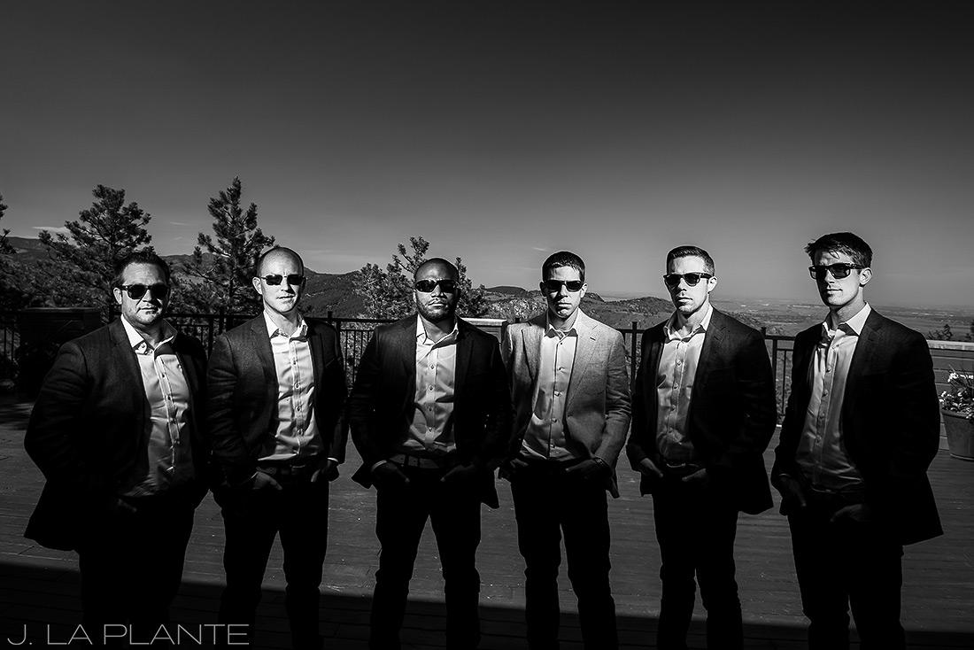 Mount Vernon Country Club Wedding | Cool groomsmen photo | Denver wedding photographer | J La Plante Photo
