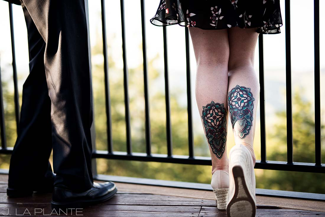 Mount Vernon Country Club Wedding | Cool tattoos | Denver wedding photographer | J La Plante Photo