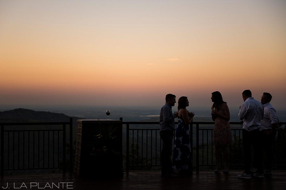 Mount Vernon Country Club Wedding | Sunset wedding reception | Denver wedding photographer | J La Plante Photo