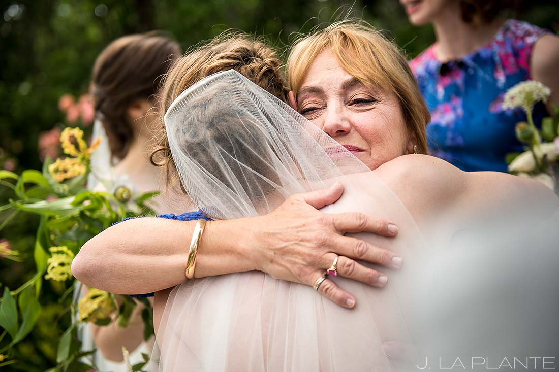 Denver Botanic Gardens Wedding | Mother of the bride | Same Sex Denver Wedding Photographer | J La Plante Photo