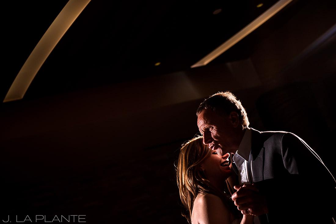 Mount Vernon Country Club Wedding | Father of the bride dance | Denver wedding photographer | J La Plante Photo