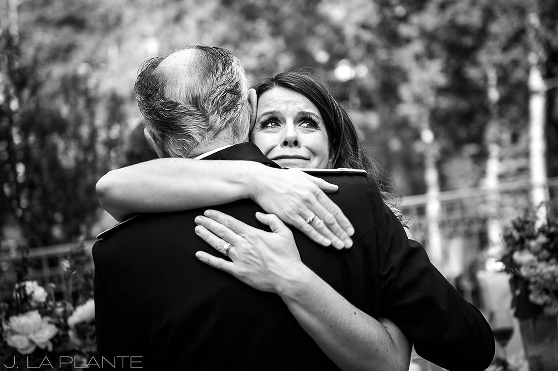 Sonnenalp Wedding | Maid of honor toast | Vail wedding photographer | J La Plante Photo