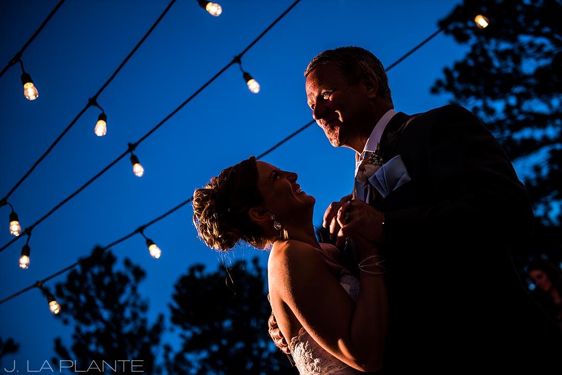 Boettcher Mansion wedding | Father Daughter Dance | J La Plante Photo | Denver Wedding Photographer