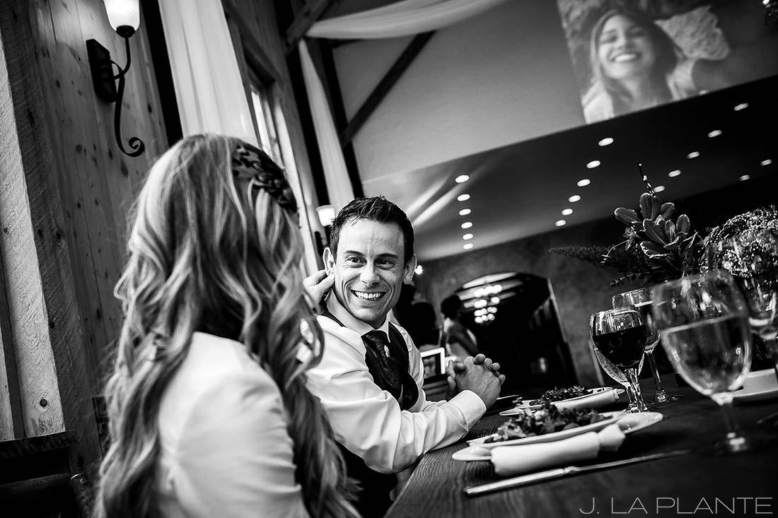 Wedding reception slideshow | Crooked Willow Farms Wedding | Denver Wedding Photographer | J La Plante Photo