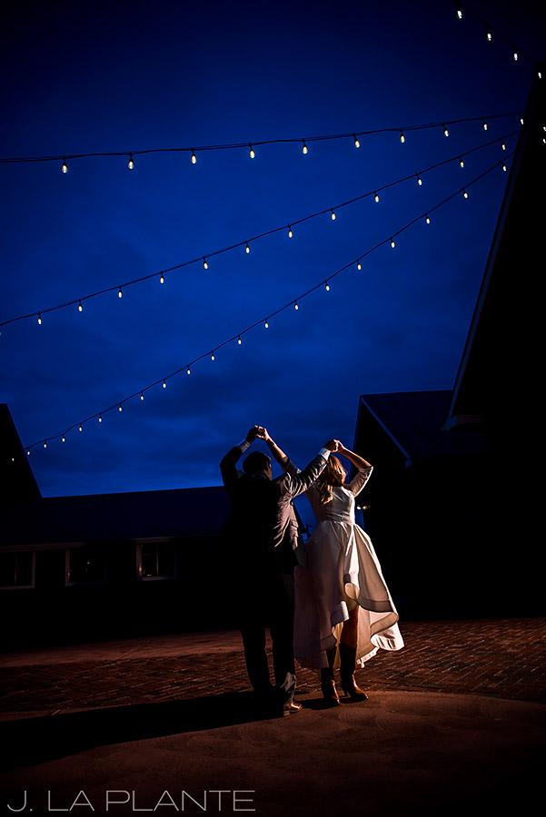 First dance | Crooked Willow Farms Wedding | Denver Wedding Photographer | J La Plante Photo