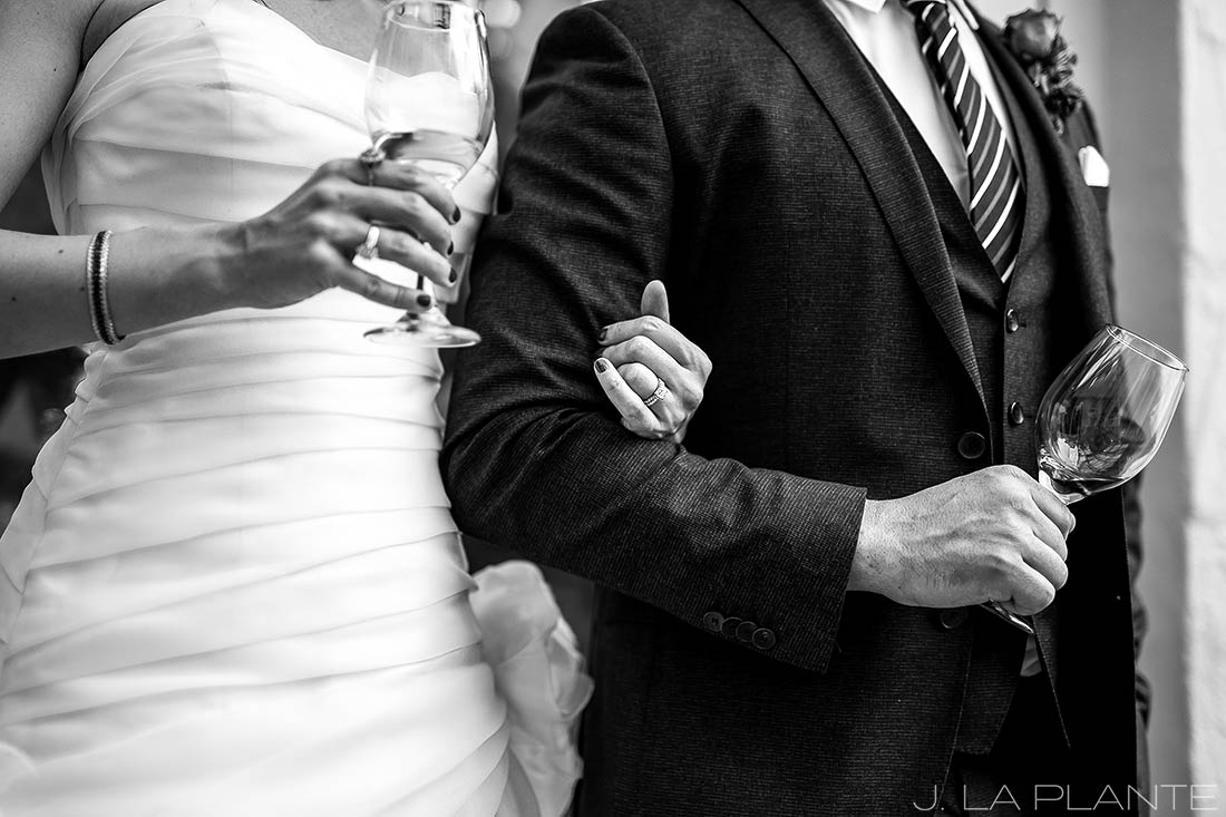 Sonnenalp Wedding | Wedding toasts | Vail wedding photographer | J La Plante Photo
