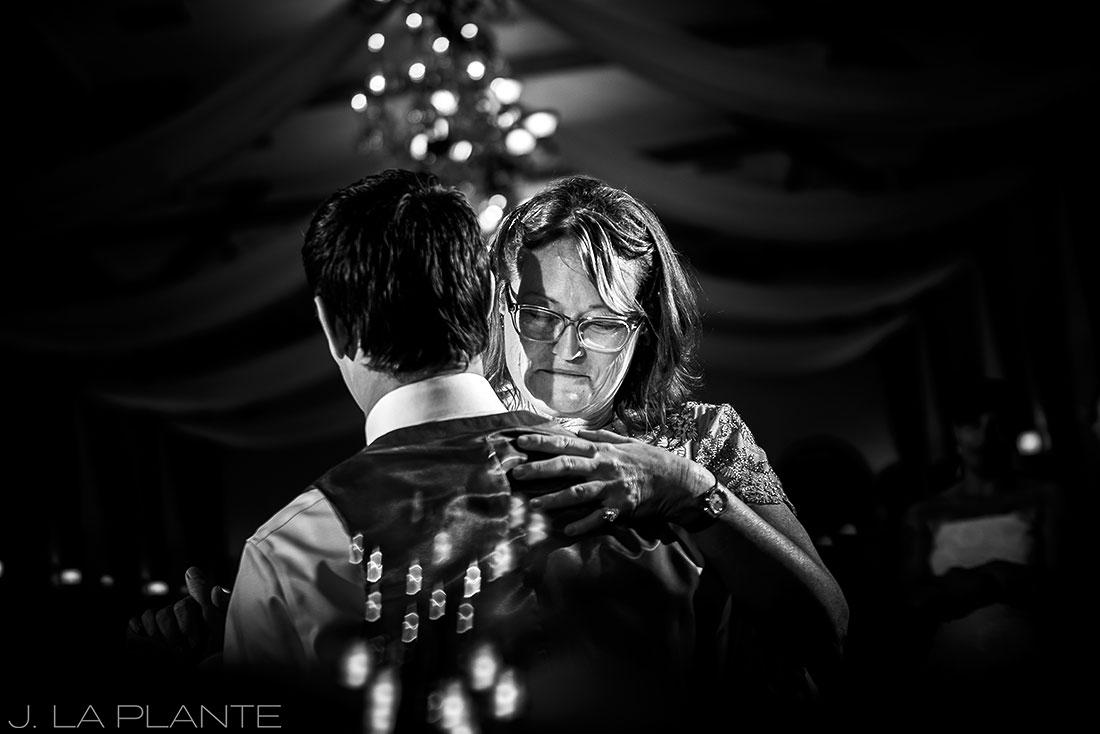 Mother son dance | Crooked Willow Farms Wedding | Denver Wedding Photographer | J La Plante Photo