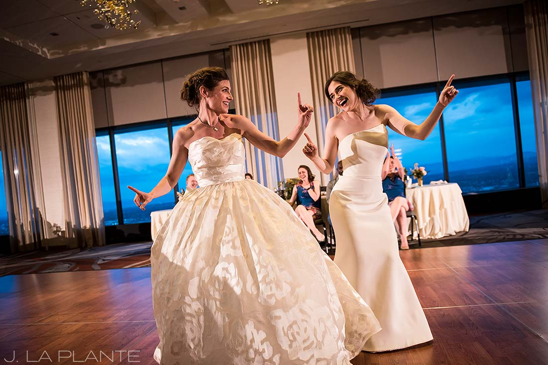 Grand Hyatt Denver Wedding | First dance | Same Sex Wedding Photographer | J La Plante Photo