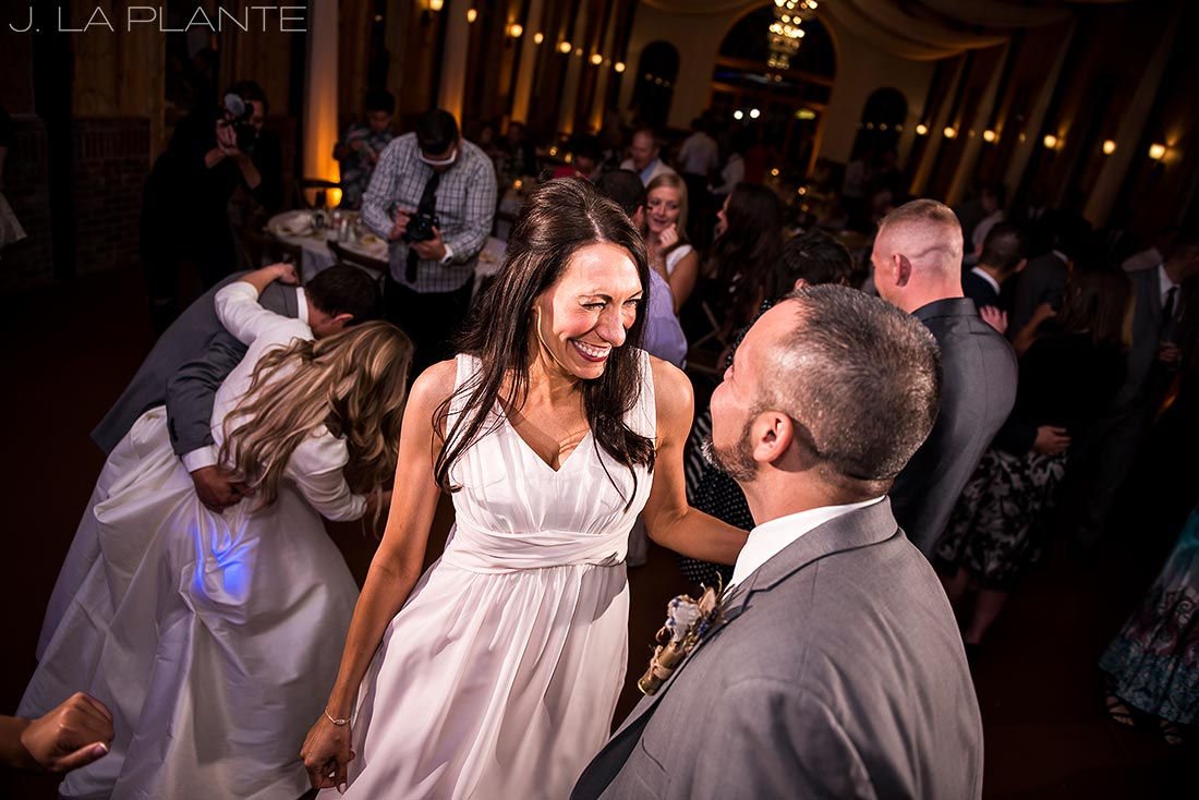 Wedding dance party | Crooked Willow Farms Wedding | Denver Wedding Photographer | J La Plante Photo