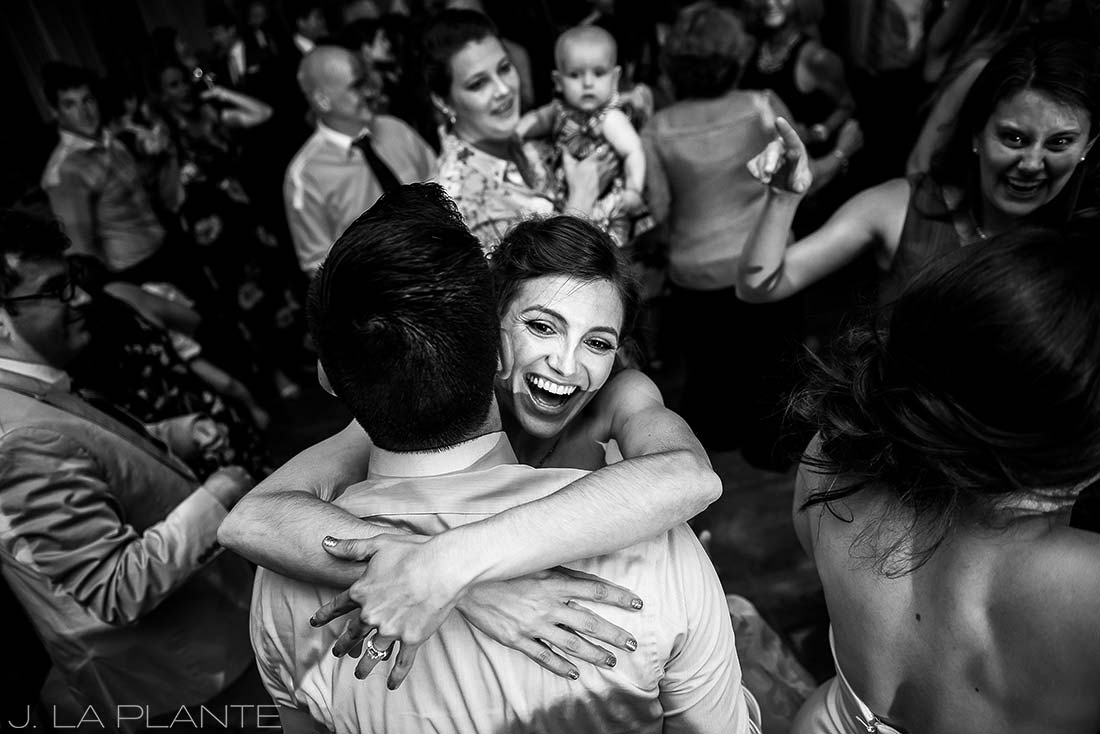 Grand Hyatt Denver Wedding | Wedding reception dance party | Same Sex Wedding Photographer | J La Plante Photo