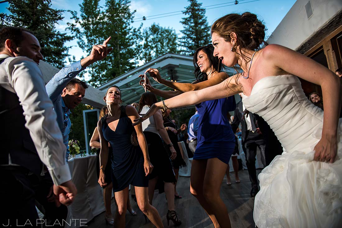 Sonnenalp Wedding | Wedding dance party | Vail wedding photographer | J La Plante Photo
