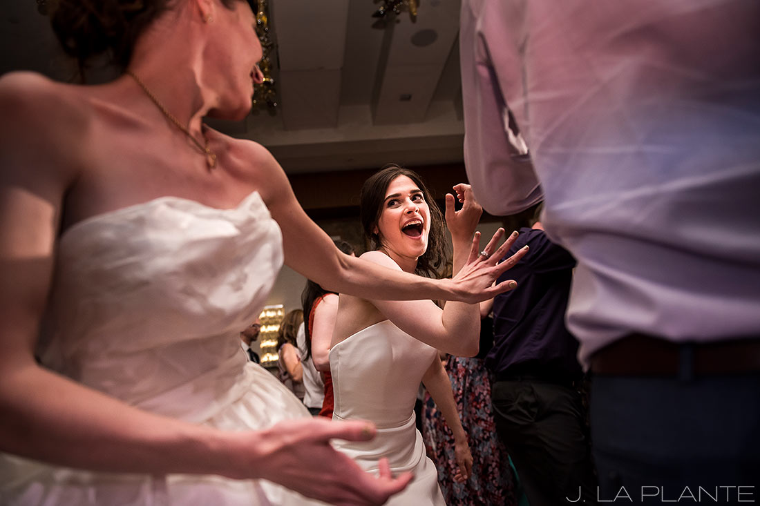 Grand Hyatt Denver Wedding | Wedding dance party | Same Sex Wedding Photographer | J La Plante Photo
