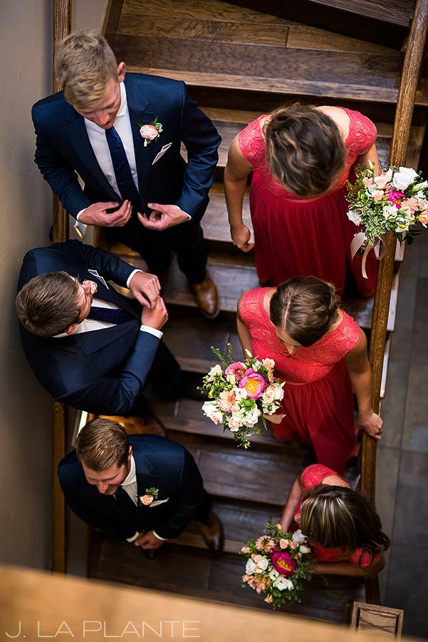 Edgewood Inn Wedding | Colorado Springs Wedding Photographer | Wedding party getting ready | J La Plante Photo