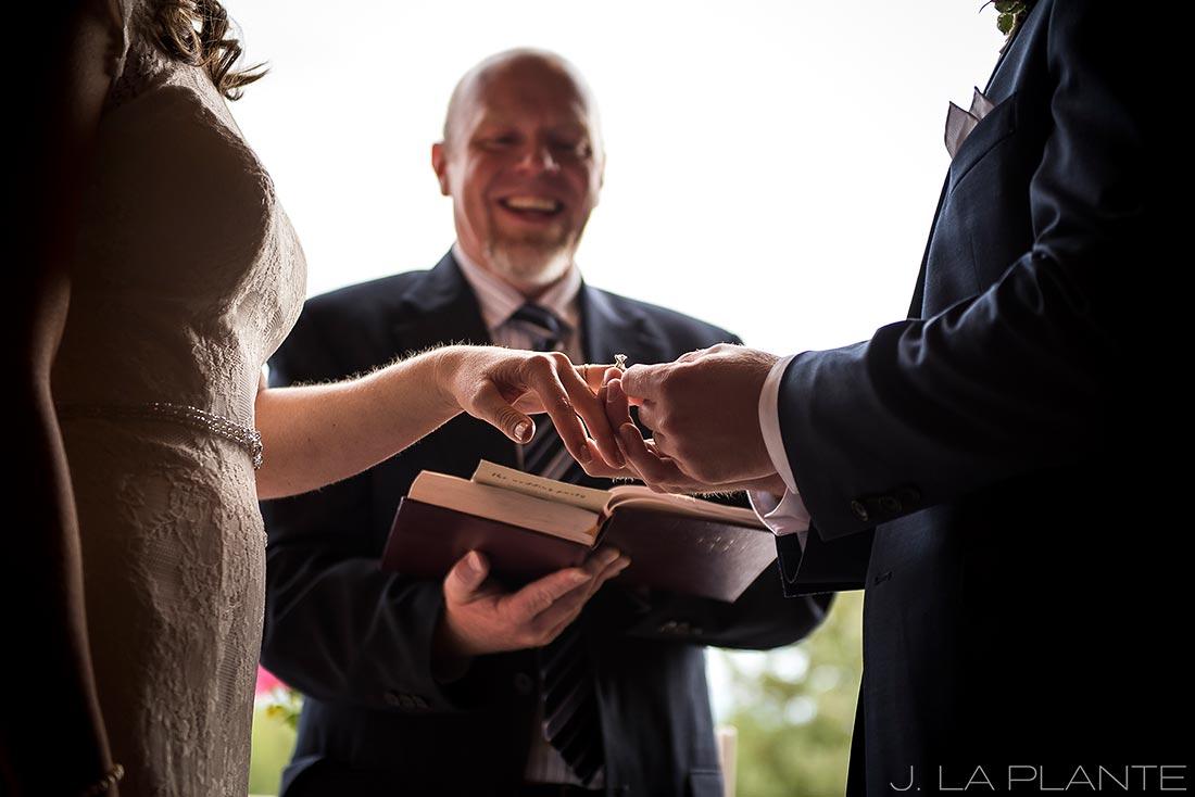 Edgewood Inn Wedding | Colorado Springs Wedding Photographer | Wedding ceremony | J La Plante Photo