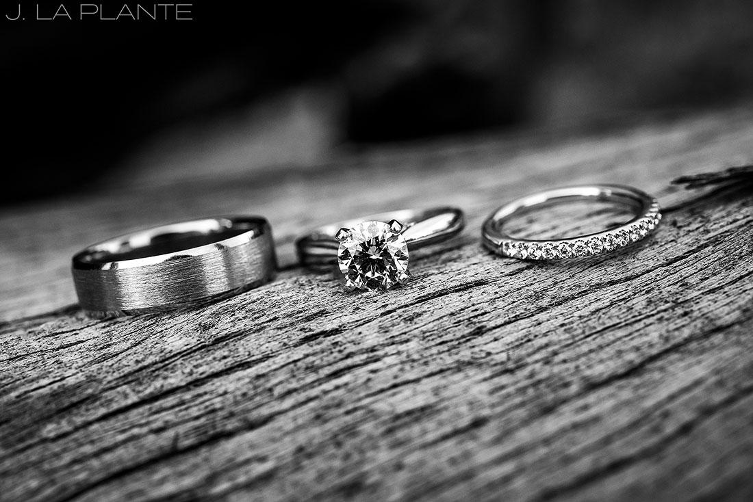 Edgewood Inn Wedding | Colorado Springs Wedding Photographer | Wedding rings | J La Plante Photo