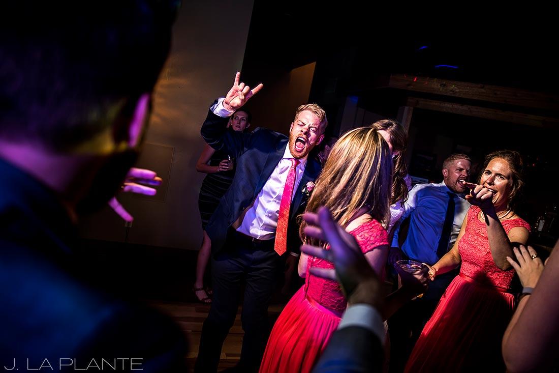 Edgewood Inn Wedding | Colorado Springs Wedding Photographer | Wedding dance party | J La Plante Photo