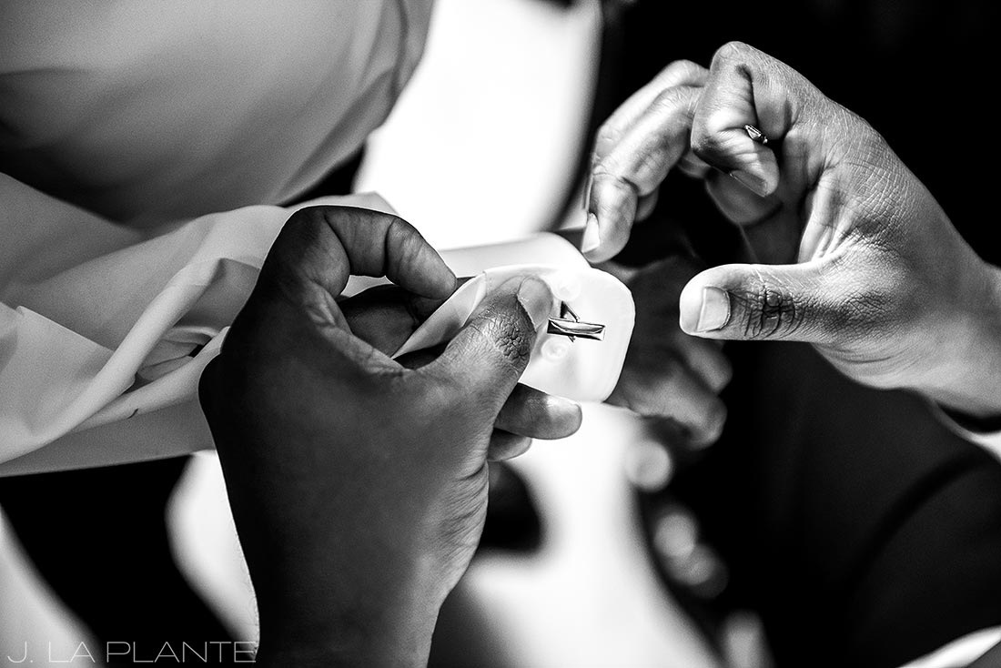 JW Marriott Cherry Creek Wedding | Ringbearers ready | Denver wedding photographer | J La Plante Photo