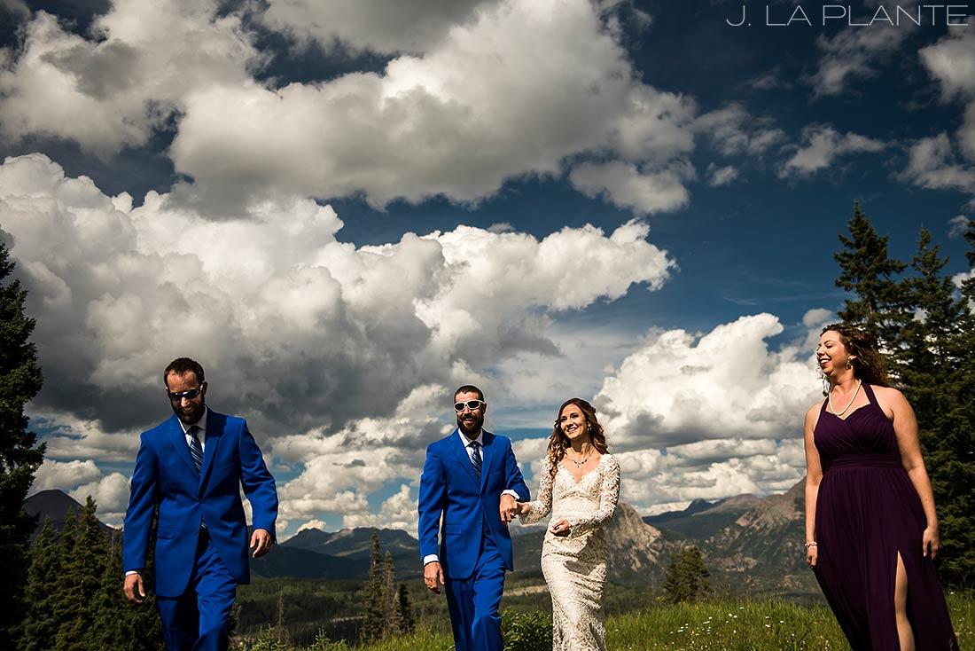 Purgatory Resort wedding | Wedding party | Colorado wedding photographer | J La Plante Photo
