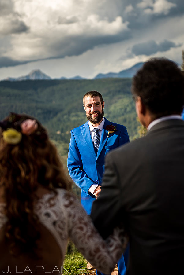 Purgatory Resort wedding | Dante's Peak wedding ceremony | Colorado wedding photographer | J La Plante Photo