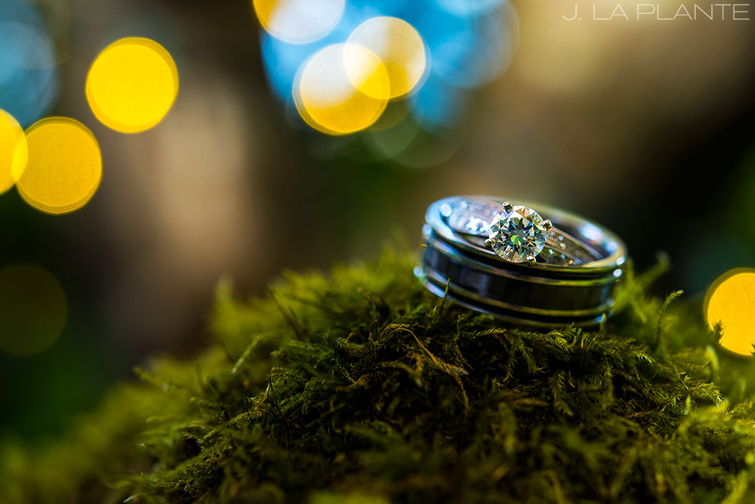 Vashon Island Wedding | Wedding rings | Seattle destination wedding photographer | J La Plante Photo