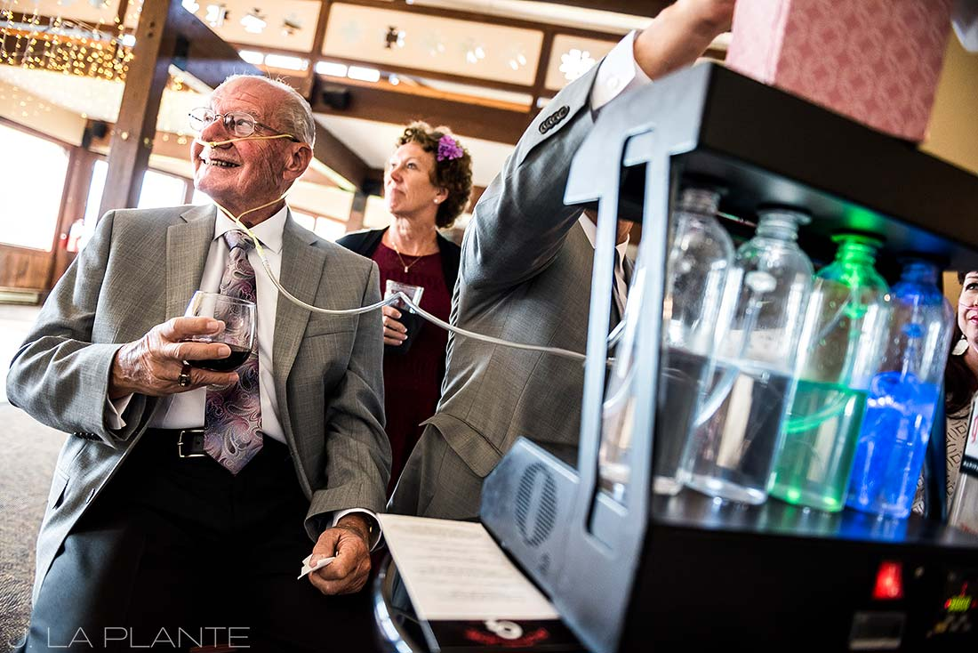 Durango wedding | Oxygen bar | Durango wedding photographer | J La Plante Photo