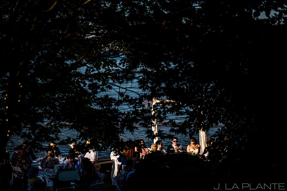 Vashon Island Wedding | Wedding reception | Seattle destination wedding photographer | J La Plante Photo