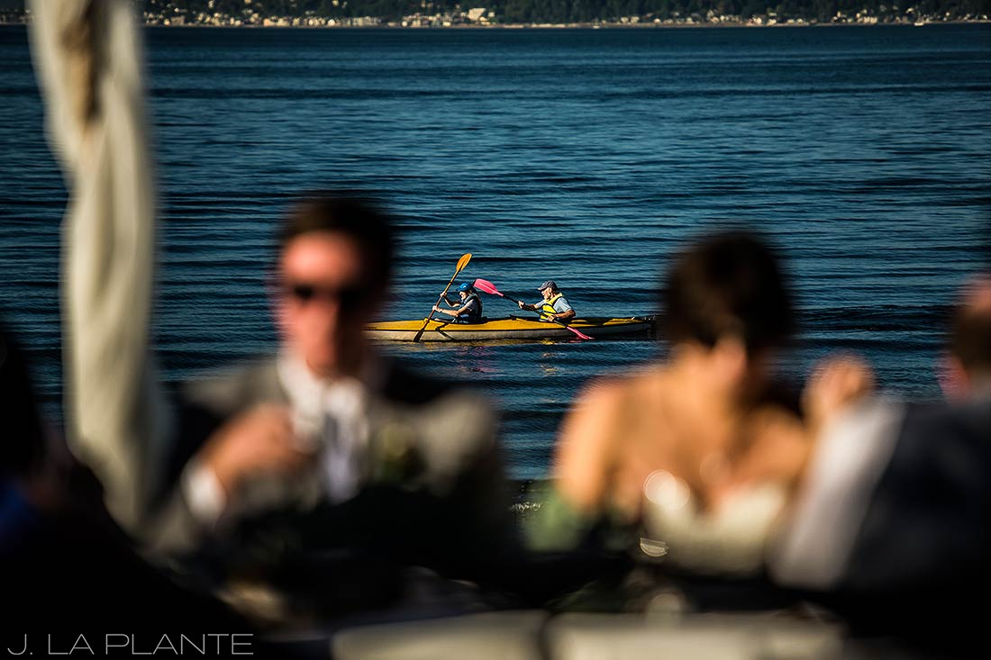 kayakers on vashon island