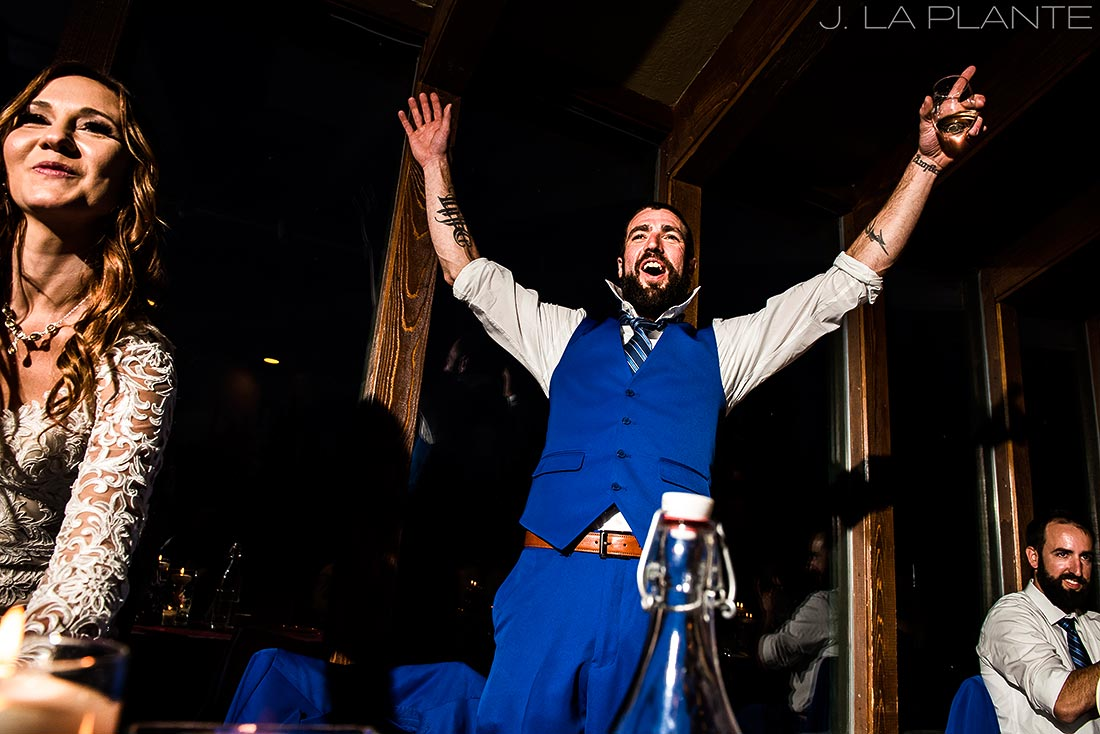 Durango wedding | Wedding toasts | Durango wedding photographer | J La Plante Photo