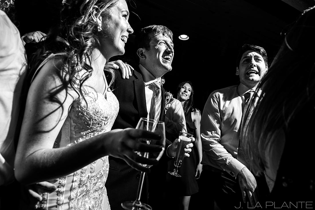 Greenbriar Inn wedding | Wedding dance party | Boulder wedding photographer | J La Plante Photo