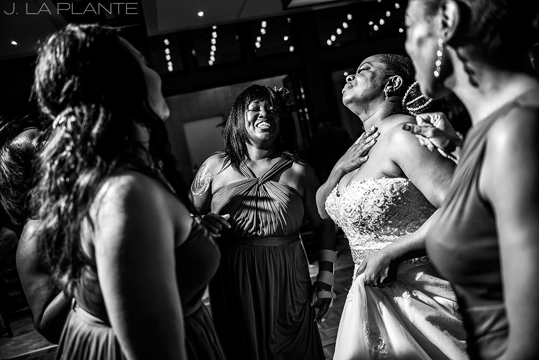 JW Marriott Cherry Creek Wedding | Wedding dance party | Denver wedding photographer | J La Plante Photo