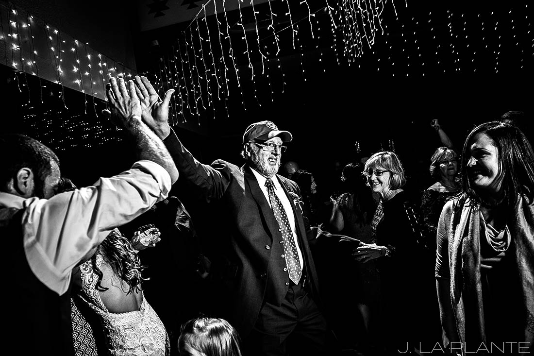 Durango wedding | Wedding dance party | Durango wedding photographer | J La Plante Photo