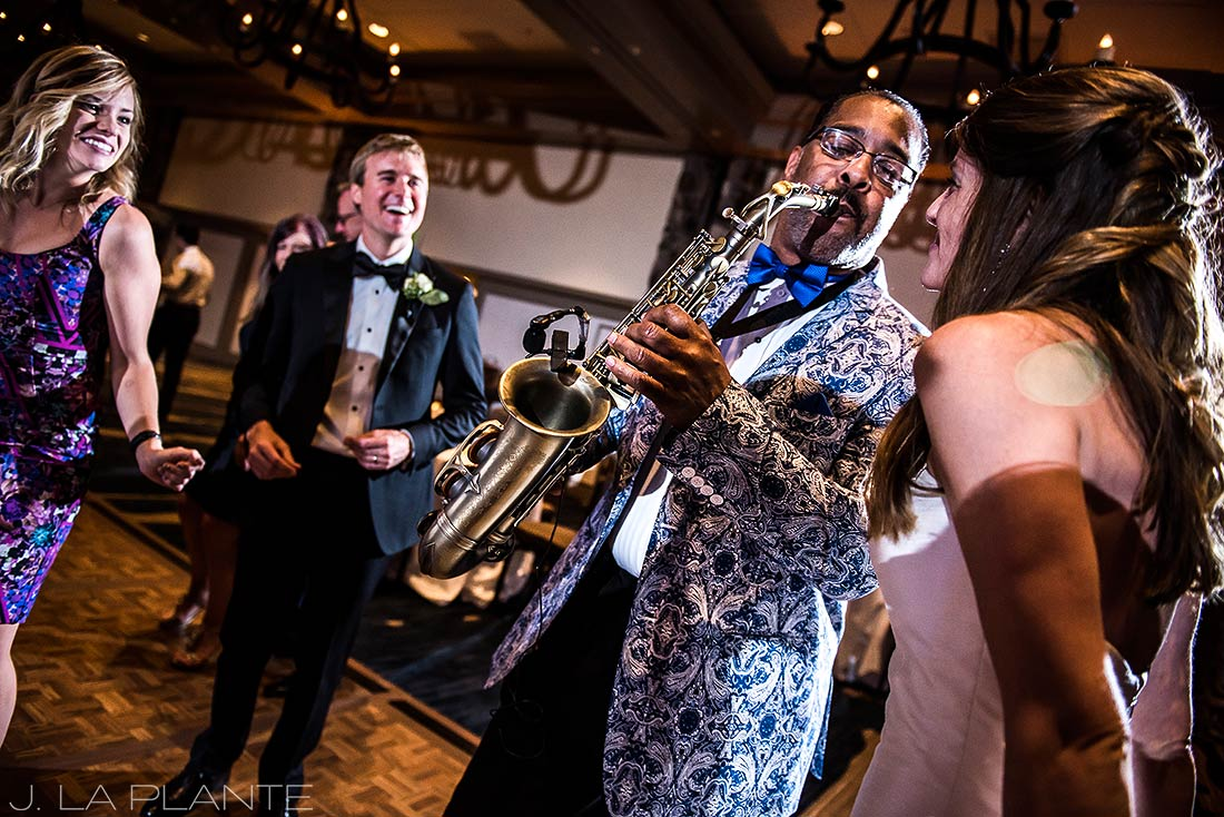 Park Hyatt Wedding | Wedding band | Beaver Creek wedding photographer | J La Plante Photo
