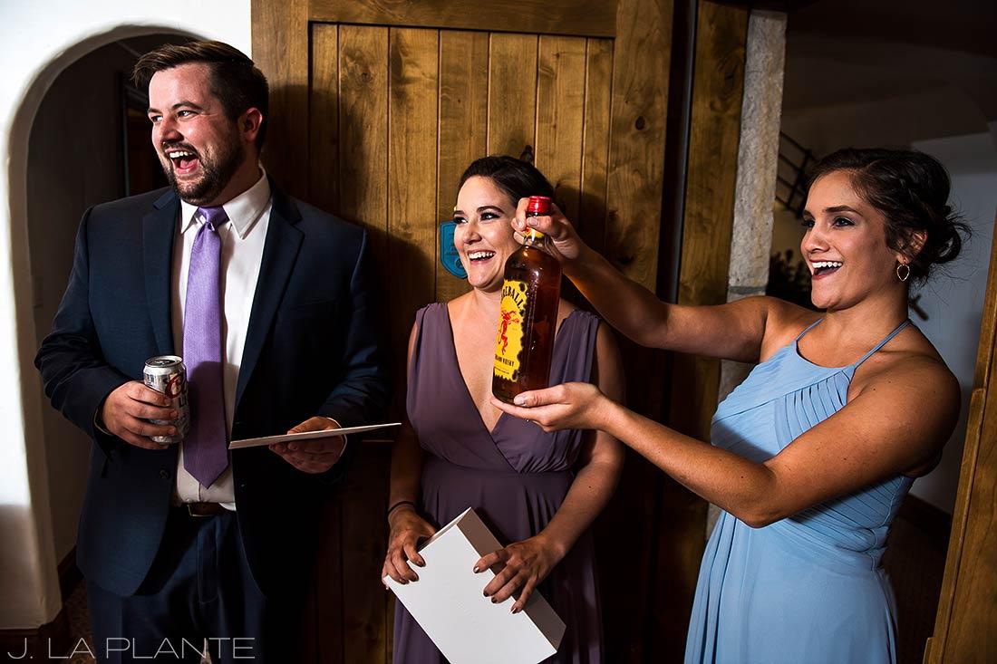 Fall Vail Wedding | Groom's gift | Vail Wedding Photographer | J La Plante Photo