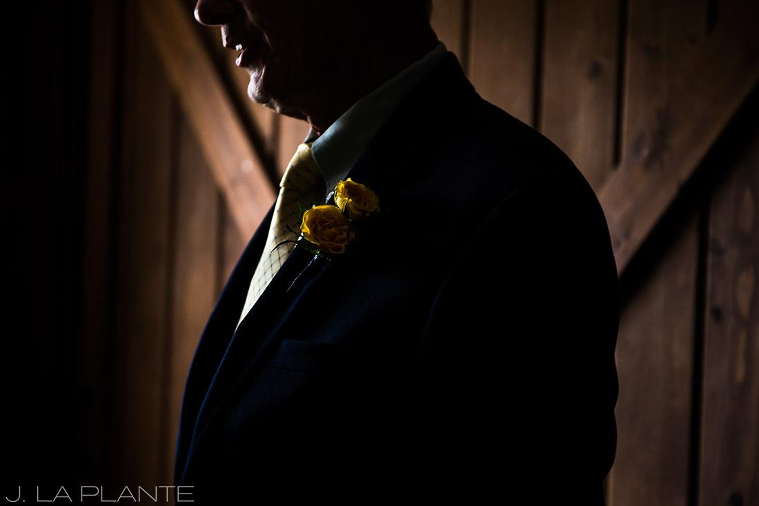 Crooked Willow Farms Wedding   Bride's father   Colorado Wedding Photographer   J La Plante Photo