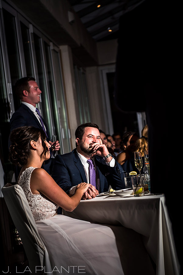 Fall Vail Wedding |Best man toast | Vail Wedding Photographer | J La Plante Photo