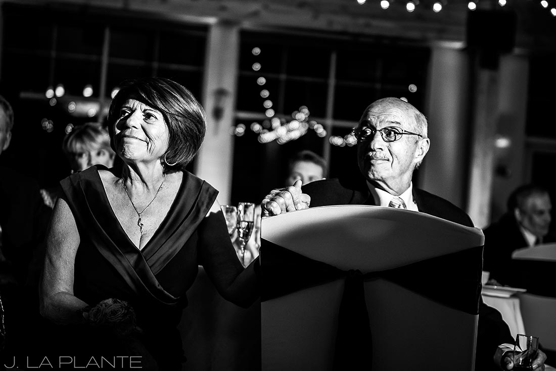Fall Copper Mountain Wedding | Parents of the bride | Colorado Destination Wedding Photographer | J La Plante Photo