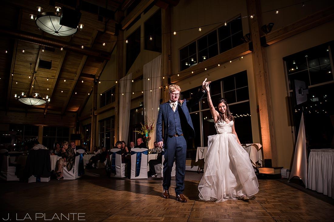 Fall Copper Mountain Wedding | First dance | Colorado Destination Wedding Photographer | J La Plante Photo