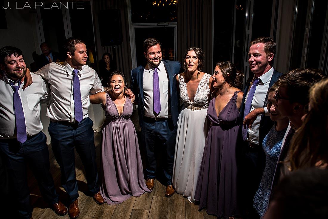 Fall Vail Wedding | Reception dance party | Vail Wedding Photographer | J La Plante Photo