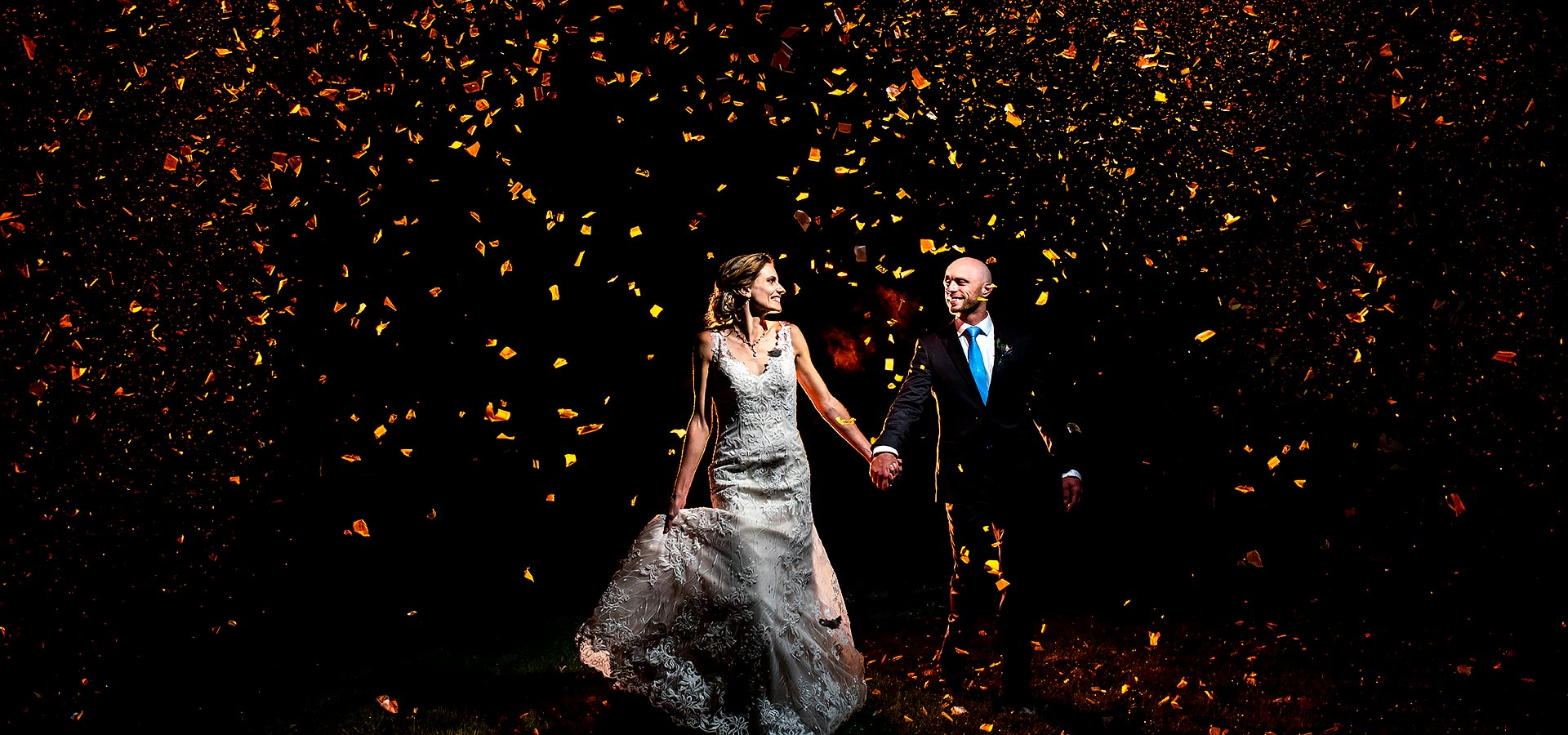 Bride and Groom Confetti Cannons | Shupe Homestead Wedding | Boulder Wedding Photographer | J. La Plante Photo